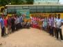 Dengue awareness procession and plantation of saplings